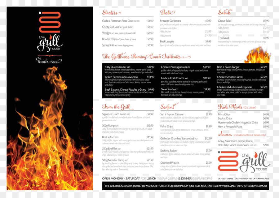 tattersalls hotel take out restaurant menu restaurant menu design