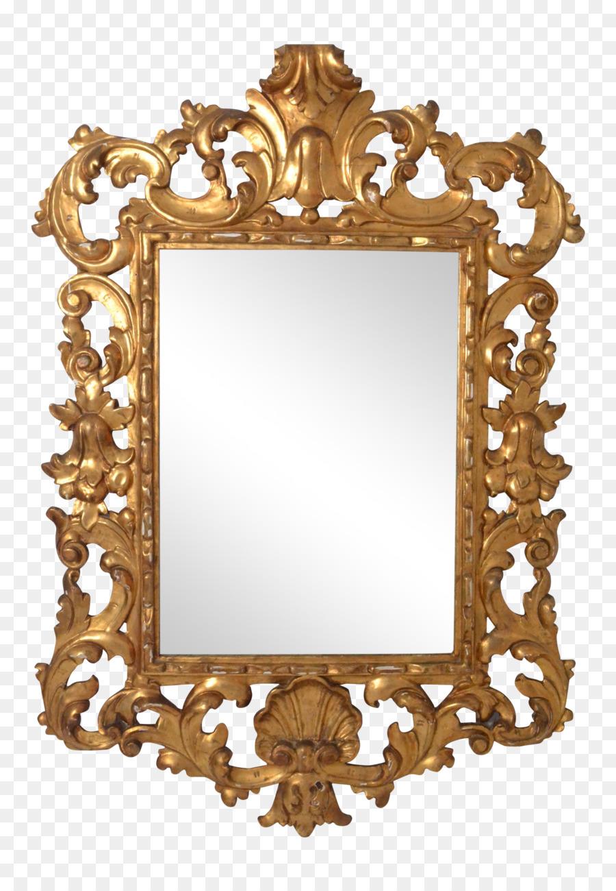 Italiano de arte Rococó Marcos de Imagen de Espejo de Estilo - la ...