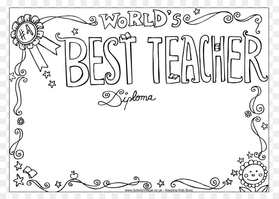 öğretmenler Günü Kitap Okul üçüncü Sınıf Boyama Renk öğretmenler