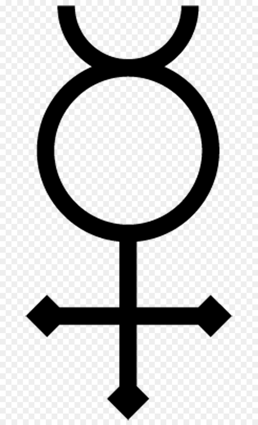 Alchemical Symbol Mercury Planet Symbols Chemical Element Alchemy