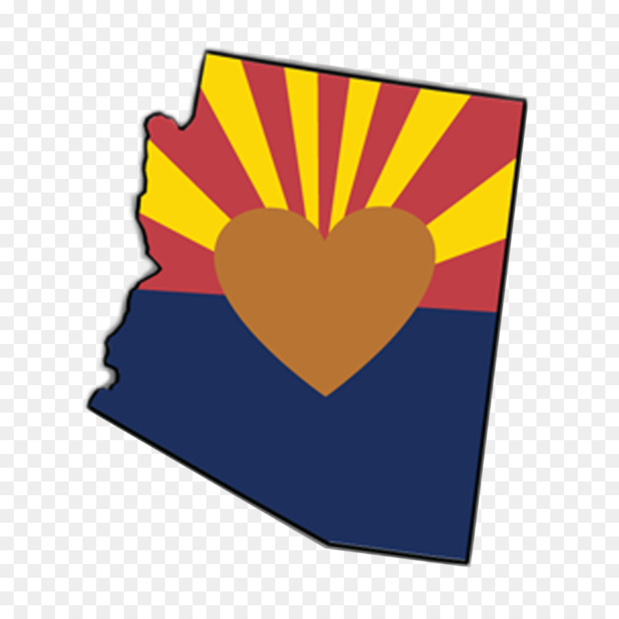 ecoverde flag of arizona sticker heart clip art state clipart png rh kisspng com status clip art status clip art