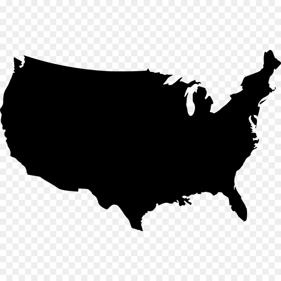 United States Vector Map Royalty-free - myrtle vector png download ...