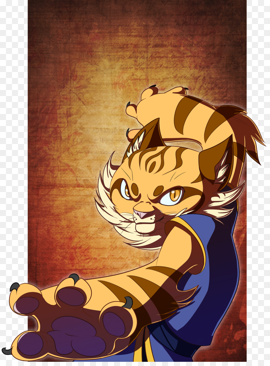 tiger lord shen tigress kung fu panda tai lung - xin fu png download
