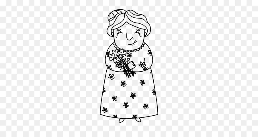 çizim Büyükanne Boyama Kitabı Dede Resim Diğerleri Png Indir 600