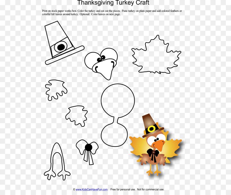 thanksgiving paper turkey craft template autumn invitation card