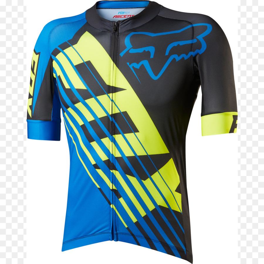 T-shirt Cycling jersey Fox Racing - cycling jersey png download - 1000 1000  - Free Transparent Tshirt png Download. f1e024b18