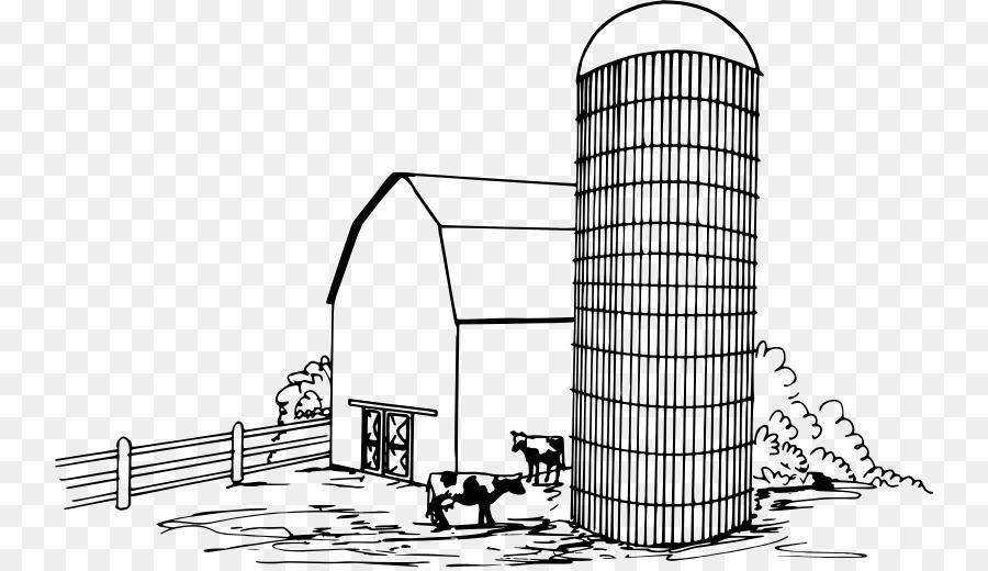 Silo de Agricultura de Dibujo Granero Clip art - granero png dibujo ...