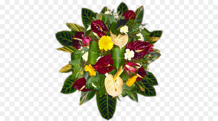 Floral design Cut flowers Flower bouquet - heart-shaped bride and ...