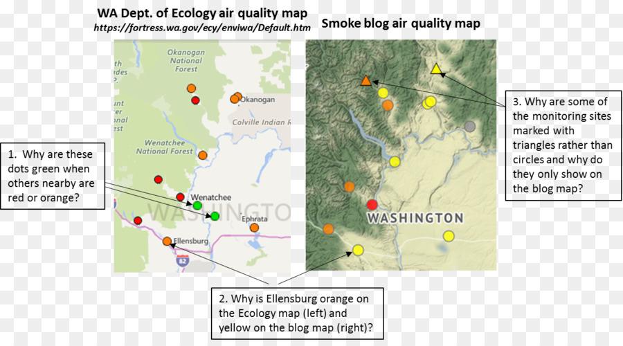Washington Air pollution Air quality index Indoor air