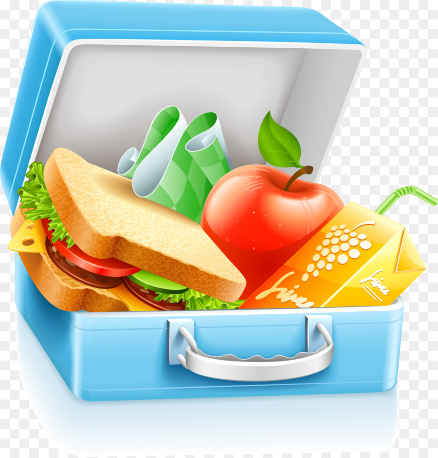 Lunchbox School Meal Clip Art