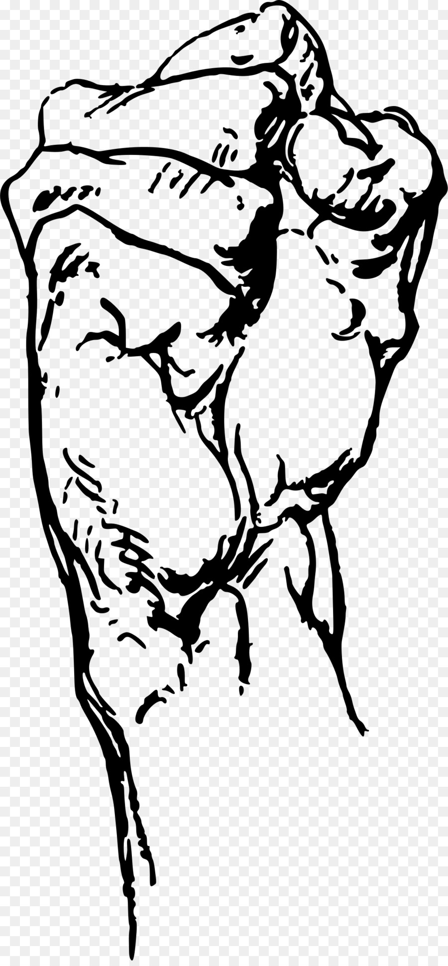 Constructive anatomy Drawing Human anatomy Art - clenched fist png ...