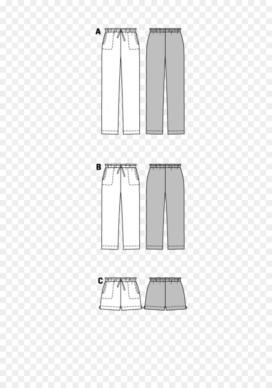 Burda Pantalones Estilo Manga Patrón De Costura - de estilo ...