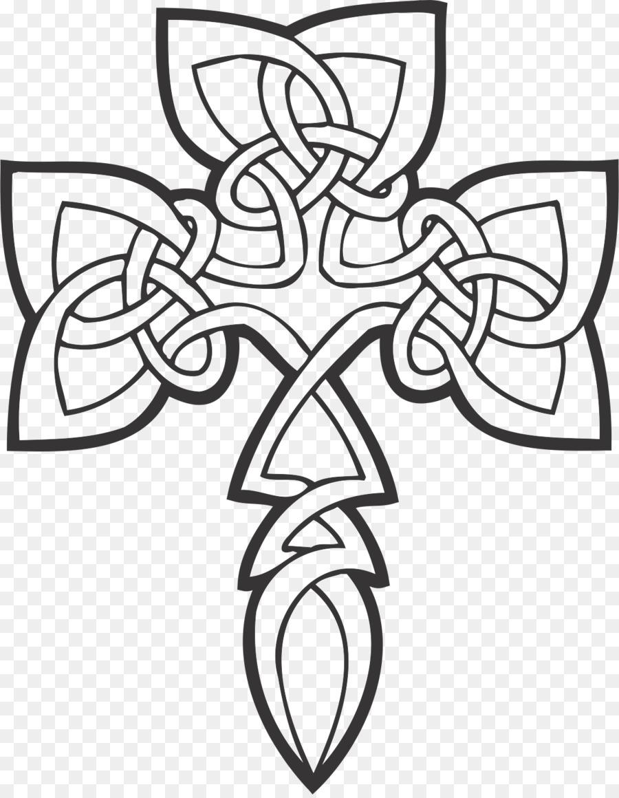 Libro para colorear de nudo Celta Celta arte de la cruz Celta Celtas ...