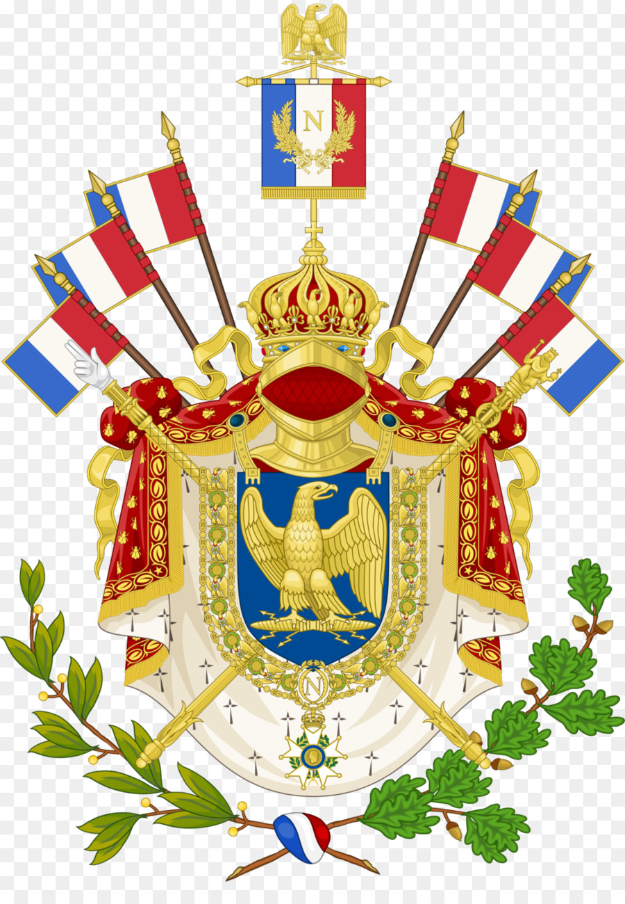 What do the arms and the flag of France