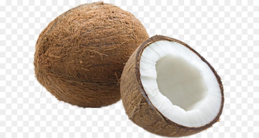 Kokosnuss Wasser Getrockneten Früchten Kokosnuss öl Essen Kokos