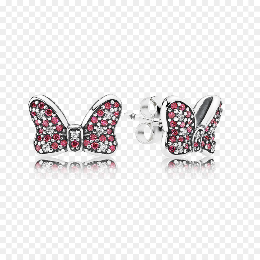 3b77fa234 Minnie Mouse Pandora Earring Mickey Mouse Charm bracelet - charms ...