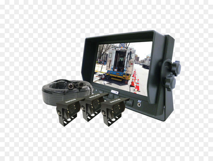 Backup camera System Computer Monitors Vehicle audio - garbage truck on wire for backup camera, cover for backup camera, wiring diagram for security camera, relay for backup camera, ouku wiring backup camera, rns 510 wiring backup camera,
