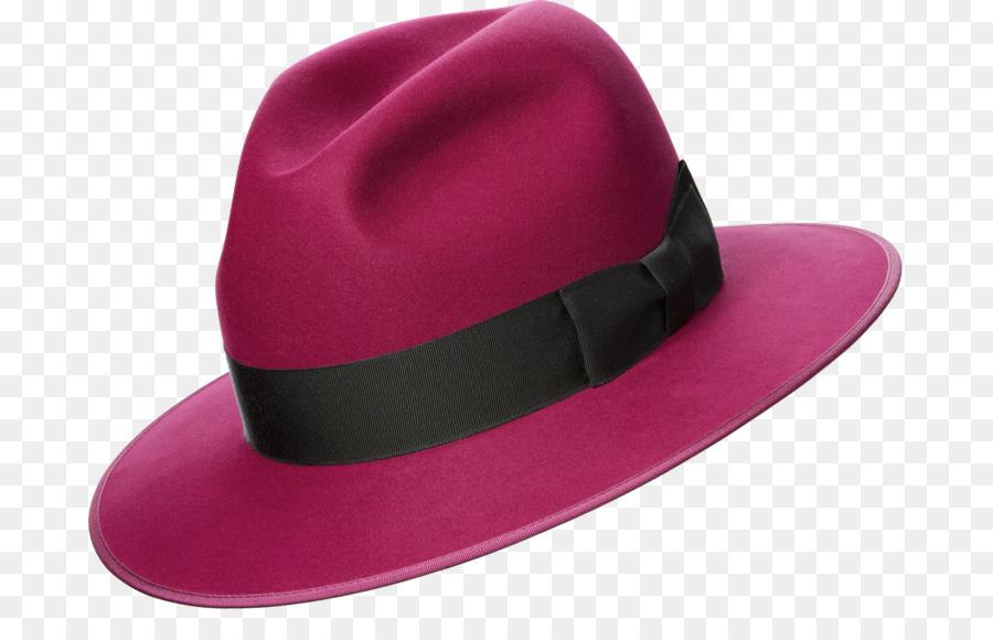 0836e34a9e99f Optimo Hats Fedora Purple Pink - Hat png download - 750 562 - Free ...