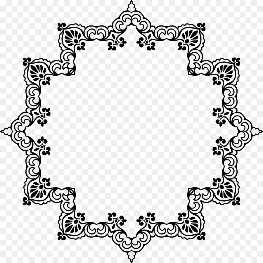 Imágenes prediseñadas - flor de ratán marco decorativo Formatos De ...