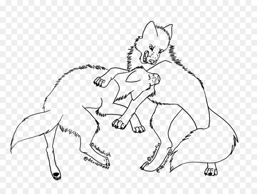 Libro para colorear Dibujo Pack Coyote - dibujos animados lobo png ...