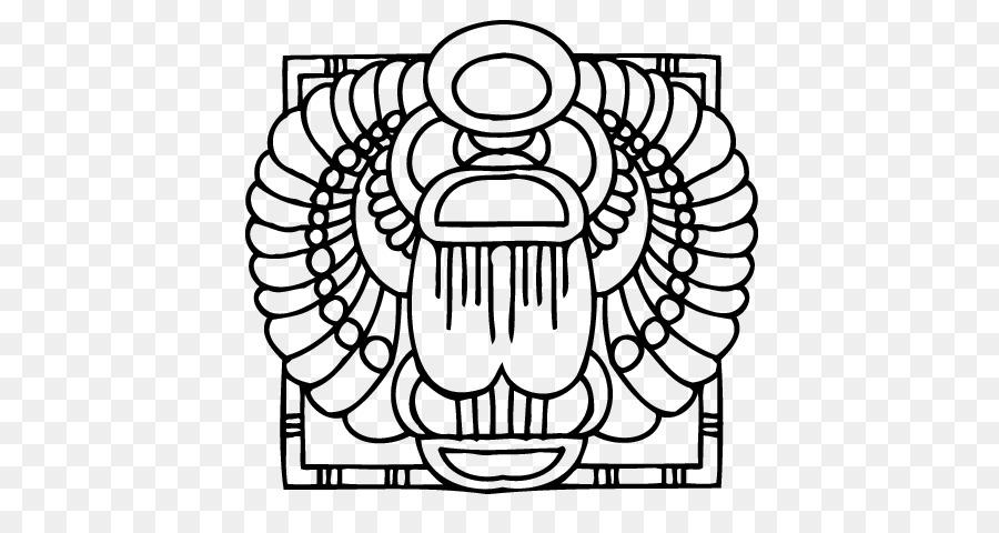 El antiguo Egipto Escarabajo Escarabajo libro para Colorear ...