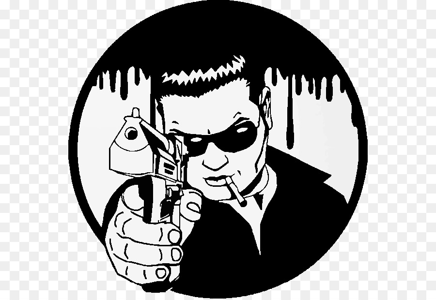 Wall decal Gangster Sticker - others png download - 618*617 - Free ...