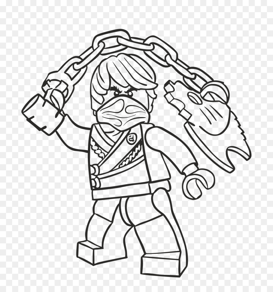 LEGO Ninjago Coloring Pages Drawing Coloring book - cole png ...