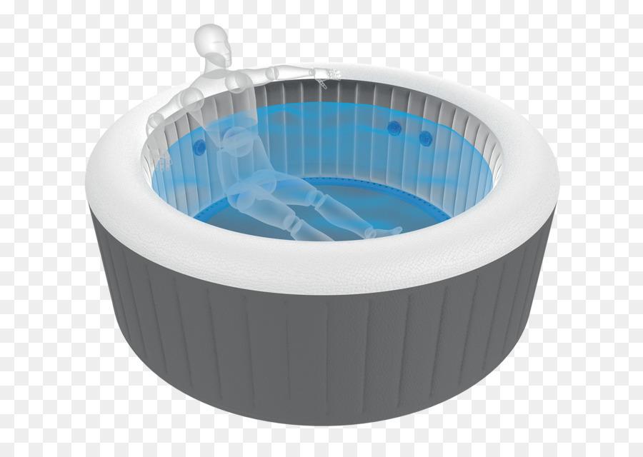 Hot tub Bathtub Spa Bathroom Hydro massage - bath tub png download ...