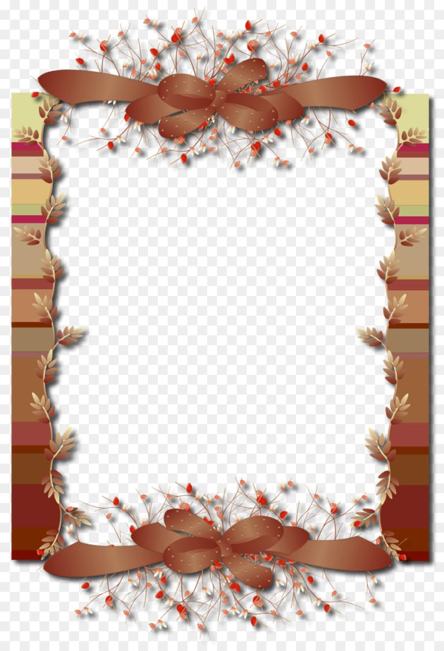 Picture Frames Autumn leaf color - autumn decoration box png ...