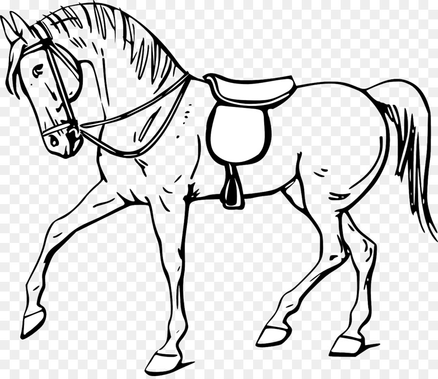 Tennessee Walking Horse Stallion Equestrian Jumping Clip Art