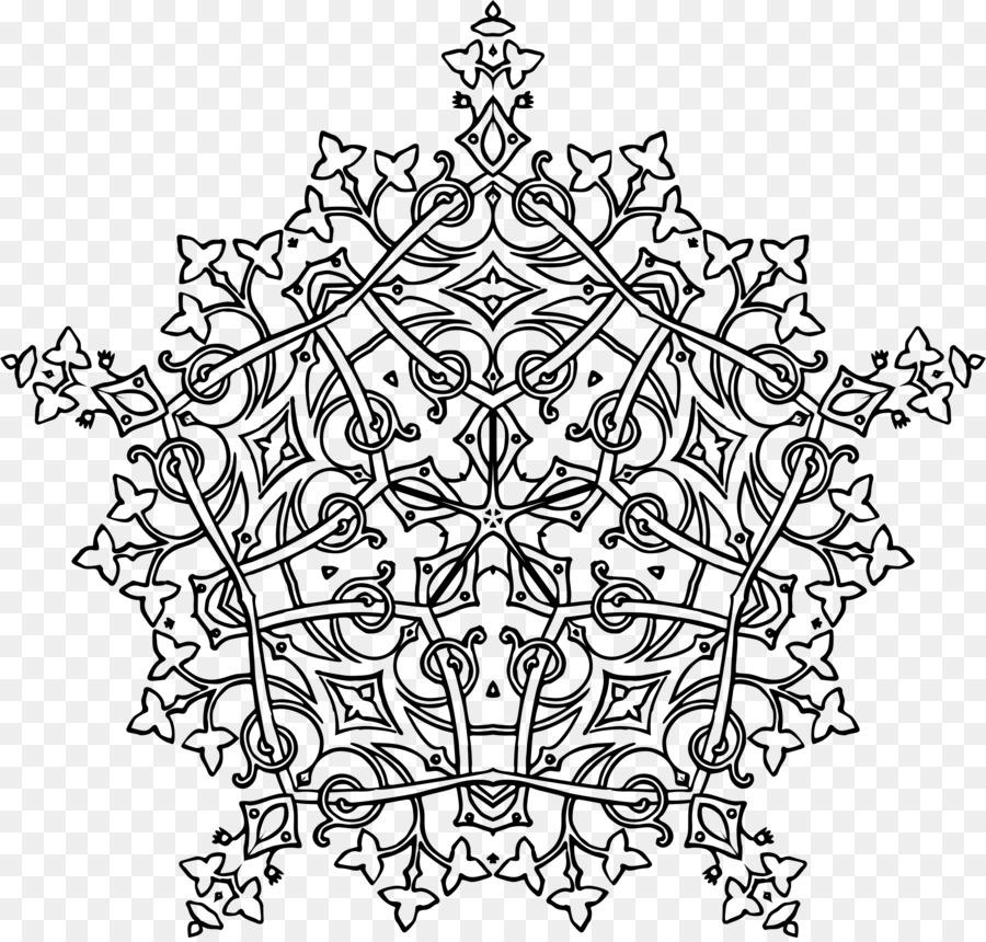 Libro para colorear de la Geometría del Dibujo Clip art - geométrica ...
