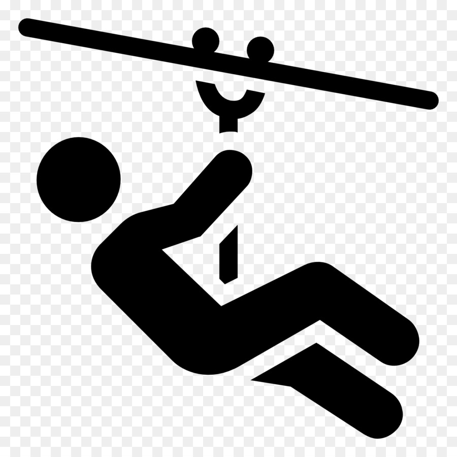 Zip-line Computer Icons Rafting Clip art - wire clipart png download ...