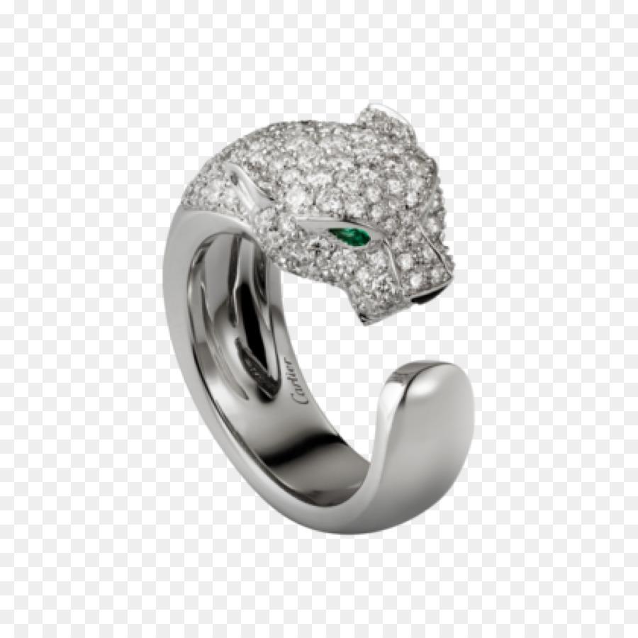 e1be83d6f87 Anel Cartier Jóias de ouro Colorido Diamante - anel de platina ...