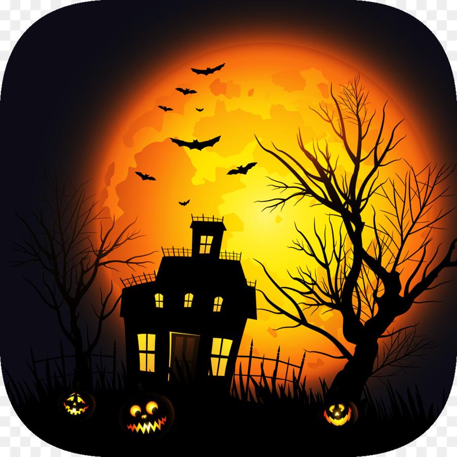 Haunted House Desktop Wallpaper Clip Art