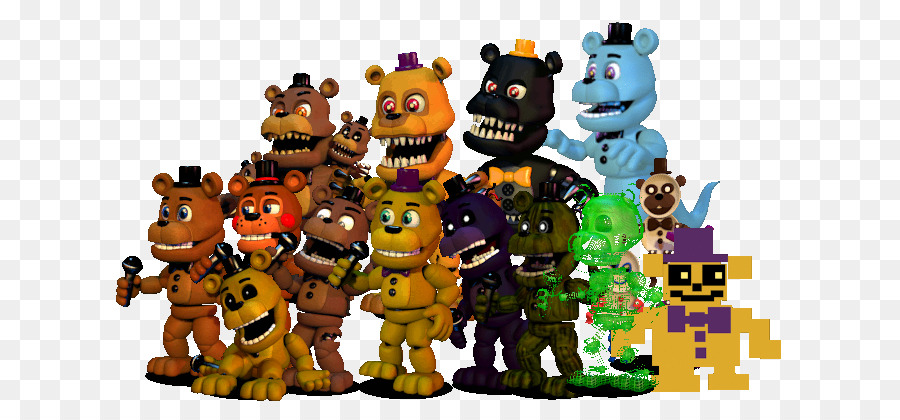 Five Nights At Freddy S Toy png download - 681*403 - Free
