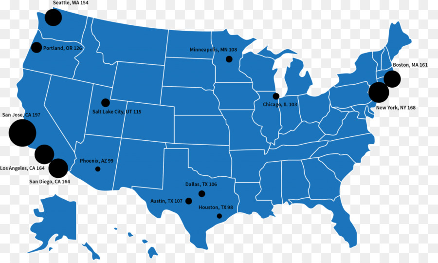 United States Vector Map Blank map - united states png download ...