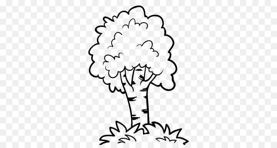 La fruta del árbol de Dibujo para Colorear libro de la Selva - árbol ...