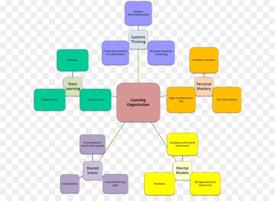the fifth discipline learning organization organizational learning others