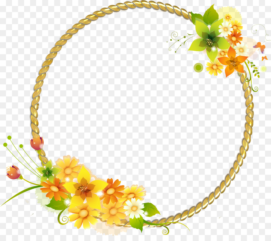 Picture Frames Photography Light Flowers Round Frame 13001136