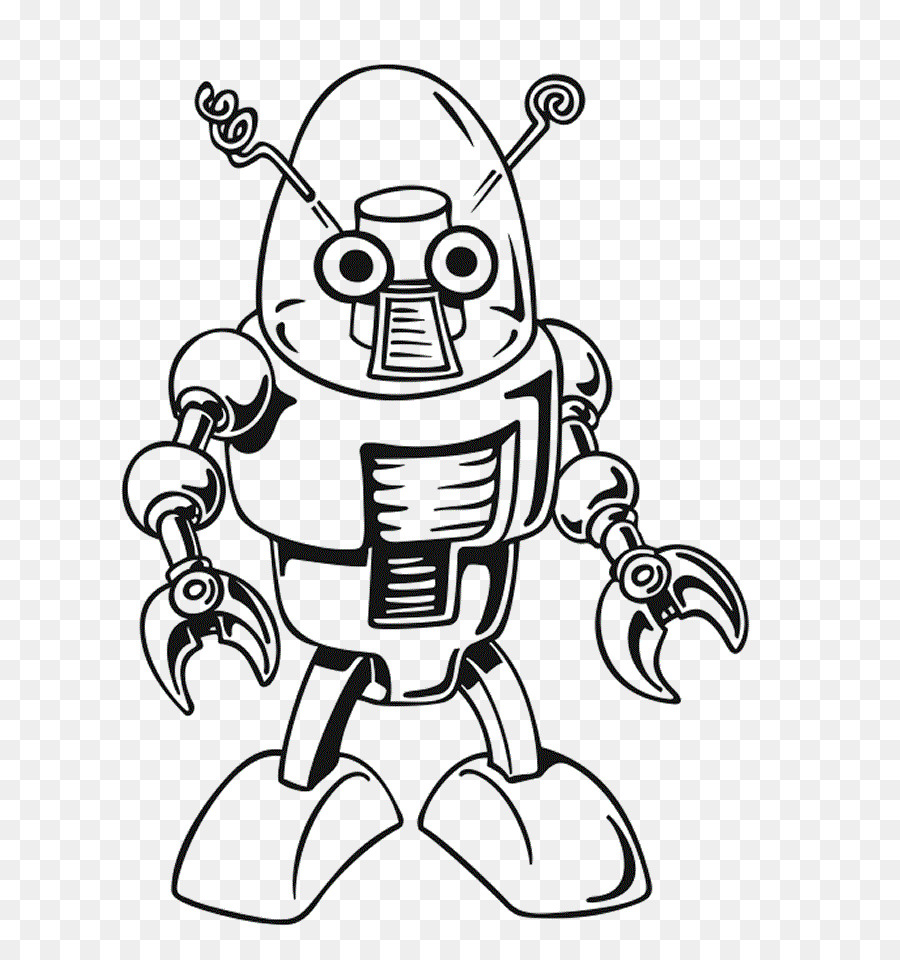 Coloring book Robot combat Child - robot png download - 708*945 ...