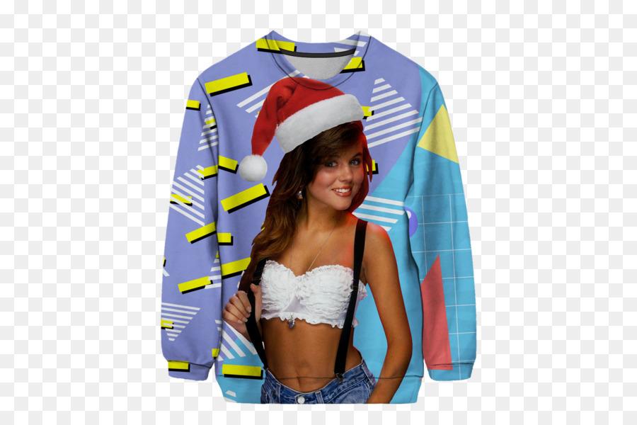 Kelly Kapowski Christmas jumper T-shirt Sweater - T-shirt 600*600 ...