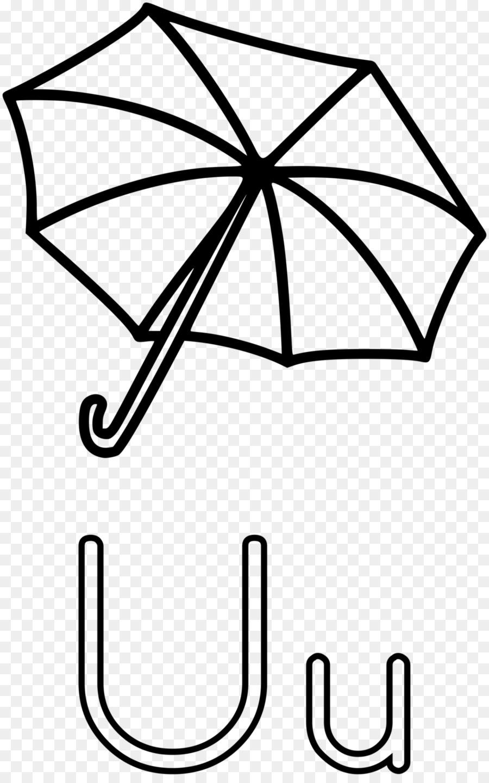 Buku Mewarnai Payung Anak Clip Art C Unduh Garis Seni Pabrik