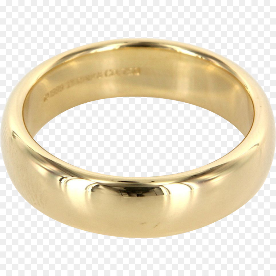 Wedding ring Engagement ring Tiffany & Co. Gold - wedding ring png ...