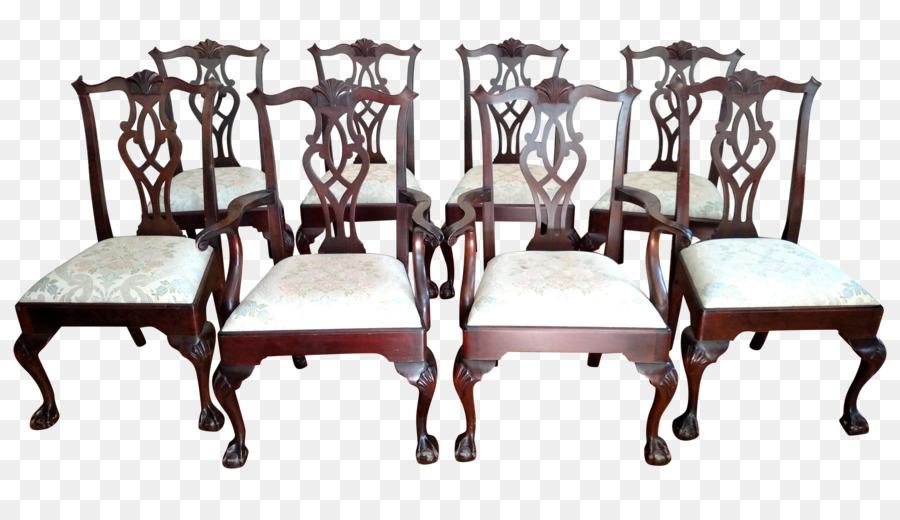 Tisch Stuhl Antik Mahagoni Stuhl Png Herunterladen 52482952