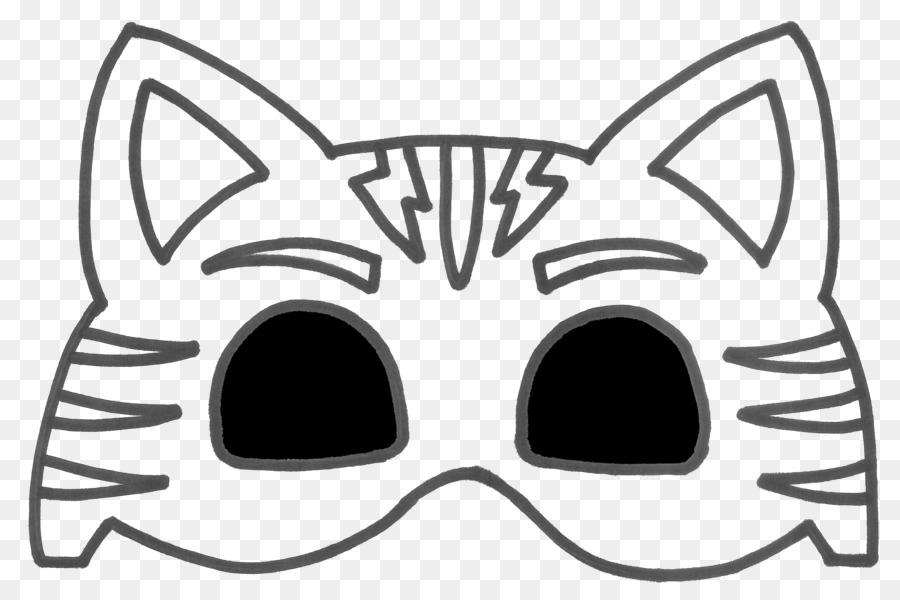 Maske Kostüm Partisi Boyama Kitabı Maskeli Balo Maske Png Indir