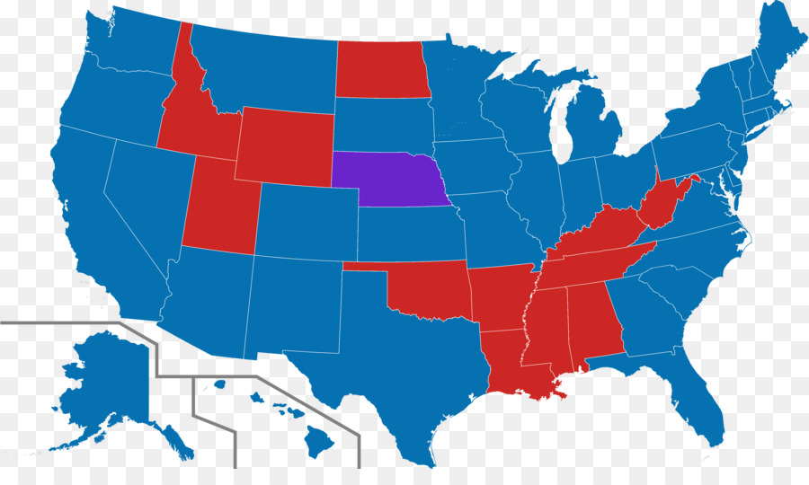 Us Presidential Election 2016 United States House Of Representatives - Us-house-of-representatives-map-by-state