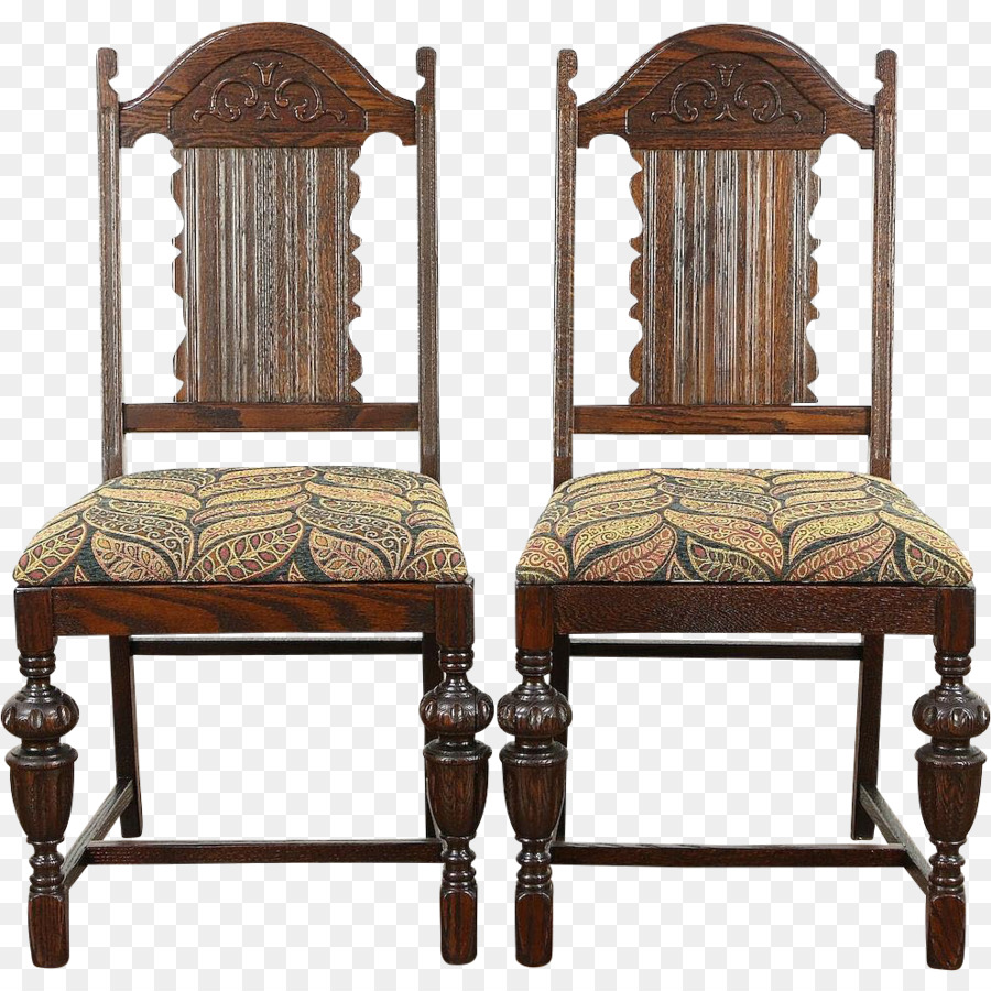 Table 1920s Jacobean era Dining room Chair - antique furniture - Table 1920s Jacobean Era Dining Room Chair - Antique Furniture Png