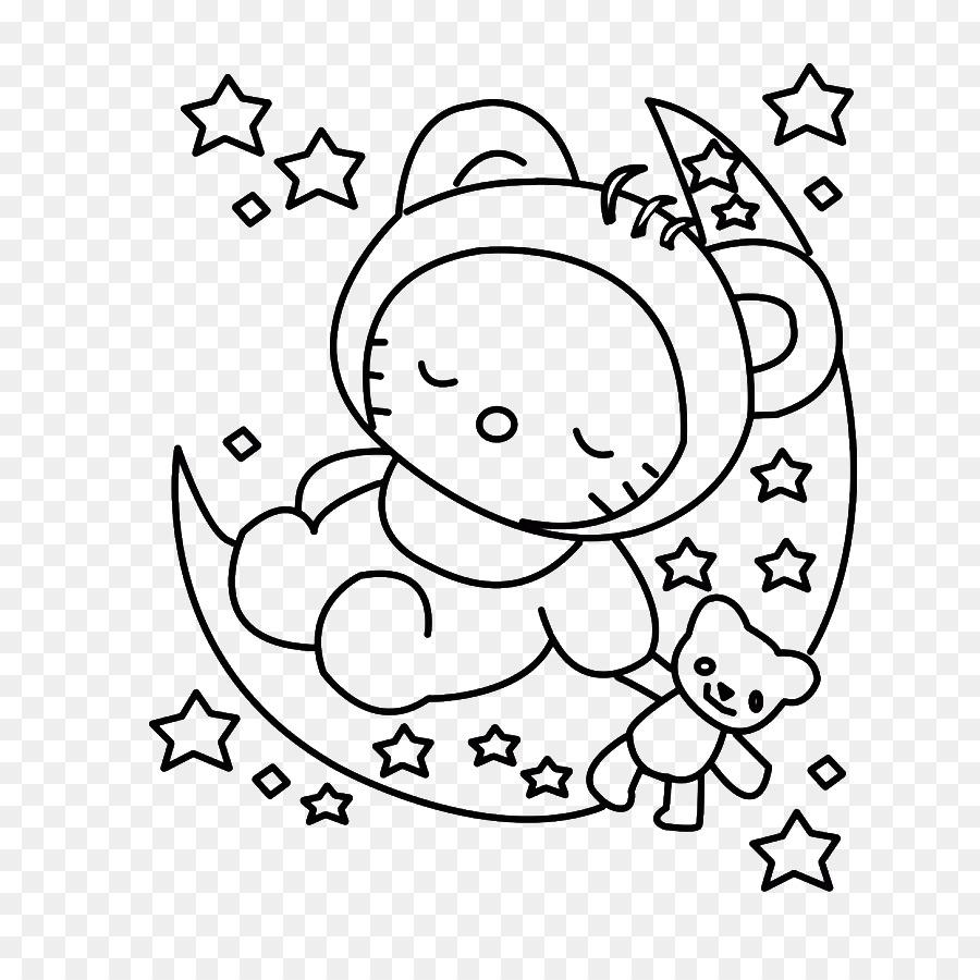 Hello Kitty libro para Colorear, Dibujo de Niño - niño png dibujo ...