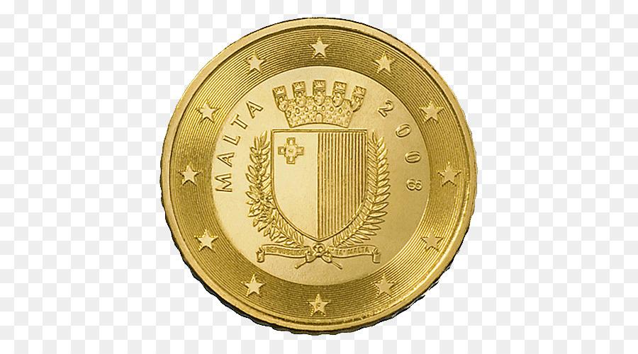 Malta Maltesische Euro Münzen 50 Cent Euro Coin 50 Fen Münzen Png