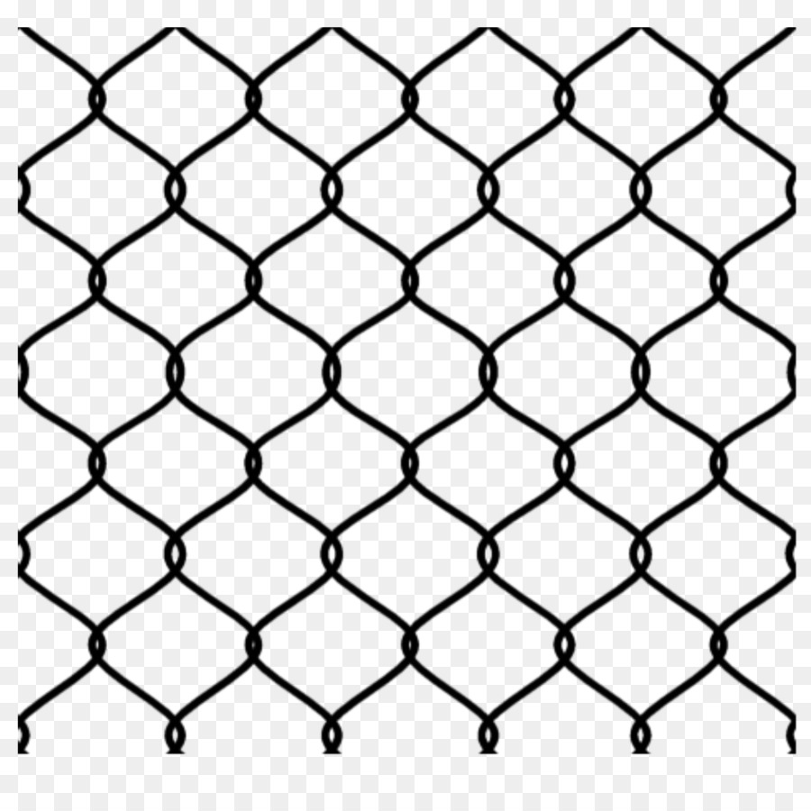 Chain-link fencing Wire Mesh Fence Metal - wire fence png download ...